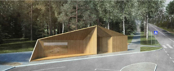 Gallery of Series of Bus Stops Along the Curonian Spit Will Connect 6 Previously Isolated Villages - 9