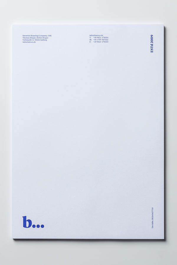 Bavarian Roasting Company Branding by Stefan Hoppe