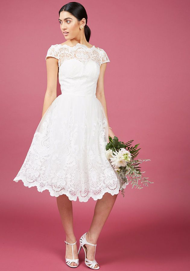 Mejores 203 imágenes de Little White Wedding Dresses en Pinterest ...