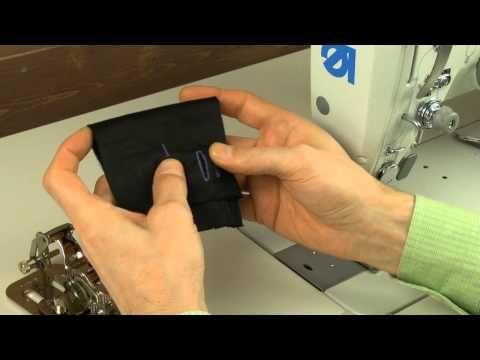 Уникальное швейное приспособление для изготовления петель - YouTube