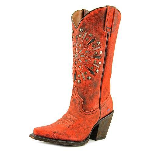 Redneck Riviera American Dreamcatcher Women US 8.5 Red Western Boot, Women's, Size: 8.5 B(M) US