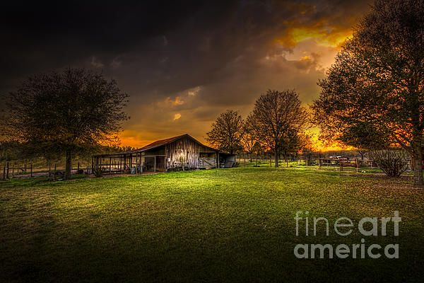 beautiful rural scene by Fine Art America artist Marvin Spates.