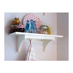 STENSTORP Wandplank - wit, 60 cm - IKEA