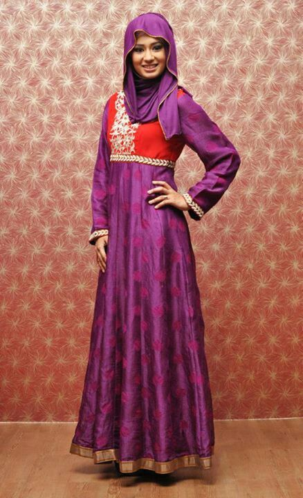 Aurah Boutique Eid collection 2013 ladies Islam / muslim fashion hijabi