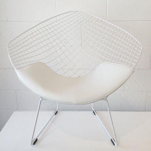 Replica Harry Bertoia Diamond Chair White