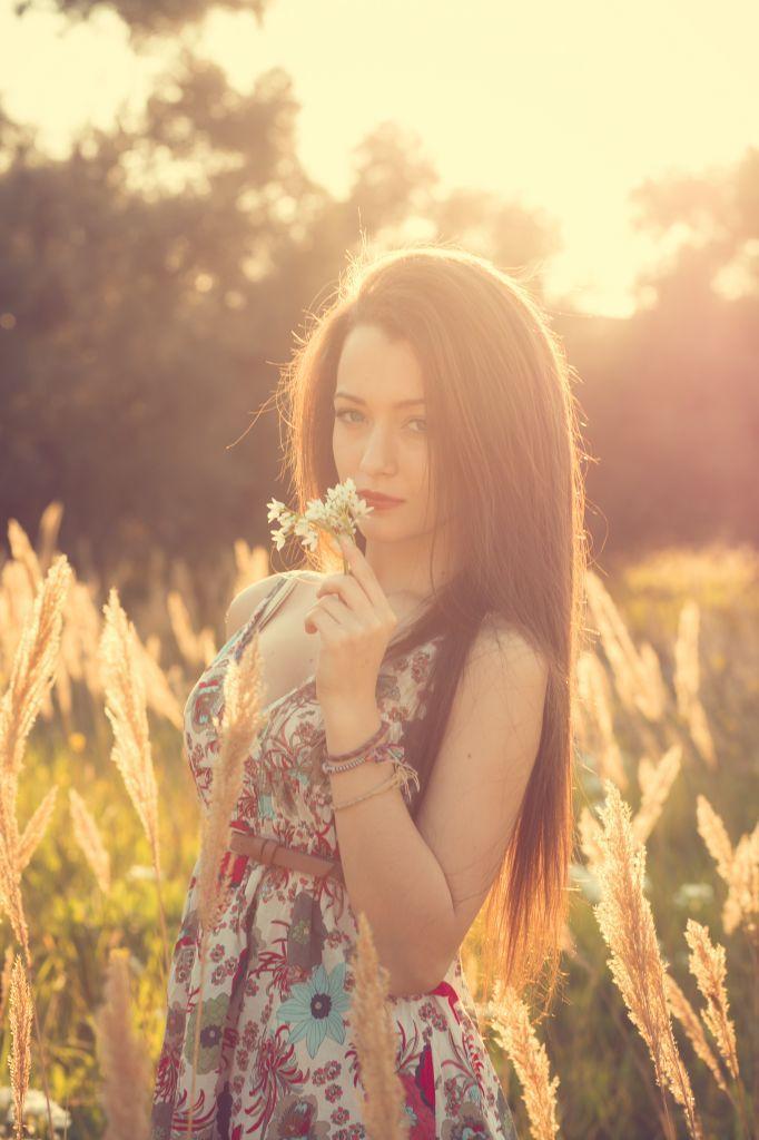 Daylight portrait..