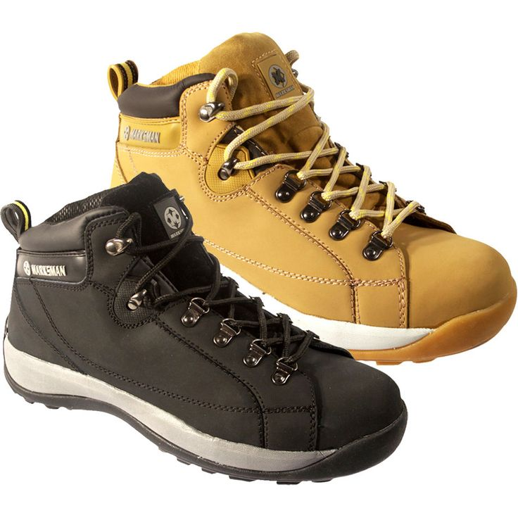 **MEN SAFETY WORK STEEL TOE CAP SHOES TRAINERS BOOT ANKLE SIZE 6-12UK LADIES NEW