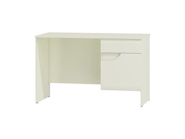 BRYZA BIURKO BRB-1C białe biurko o nowoczesnej formie idealne dla nastolatka , pasuje do każdego pomieszczenia również do pokoi na poddaszu