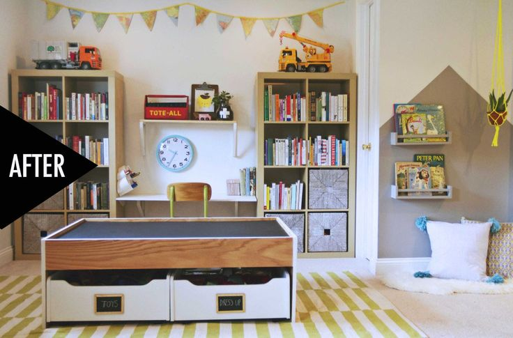 The One Room Challenge Modern Playroom REVEAL!