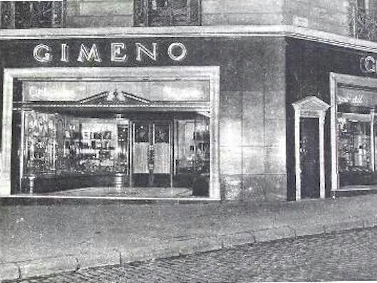 Gimeno. P. de Gracia i a Rambles anys 50