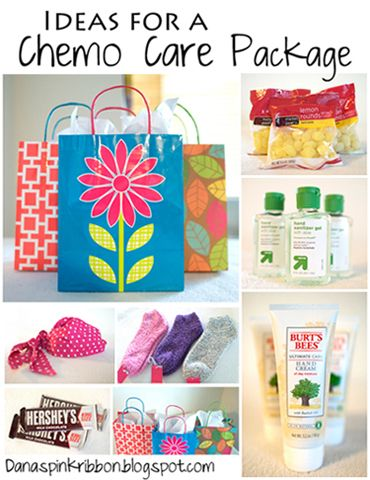 There are only two ways to live your life.: Chemo Care Package Ideas and Chemo Tips
