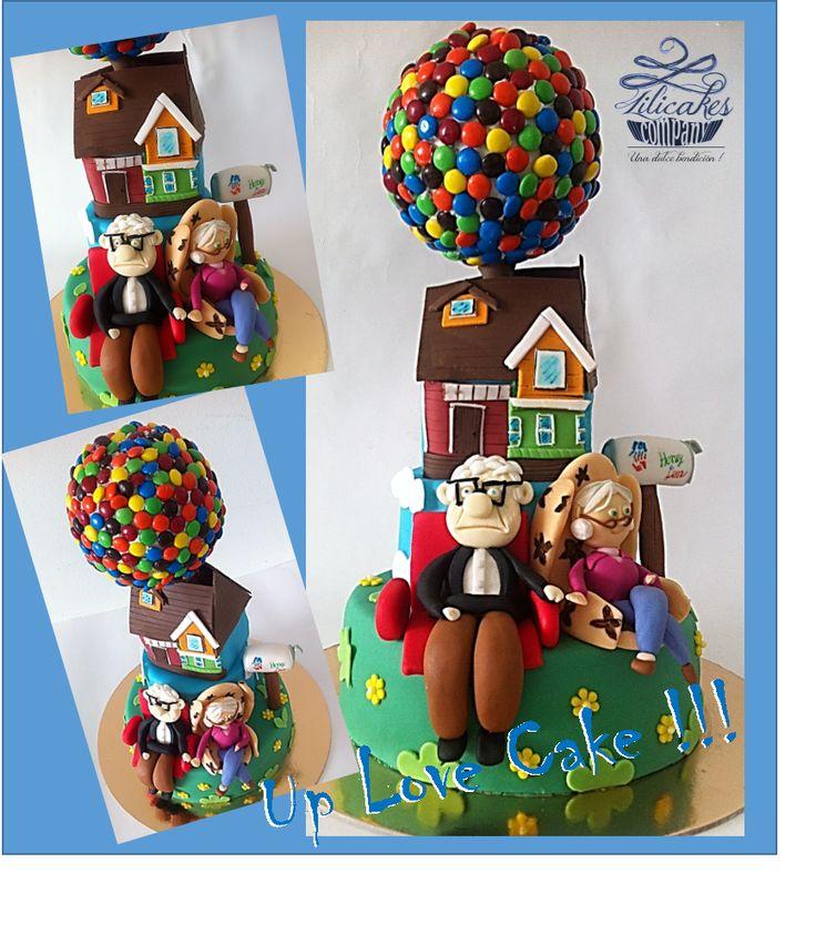 UP Cake Torta de Up Ponqué de Up
