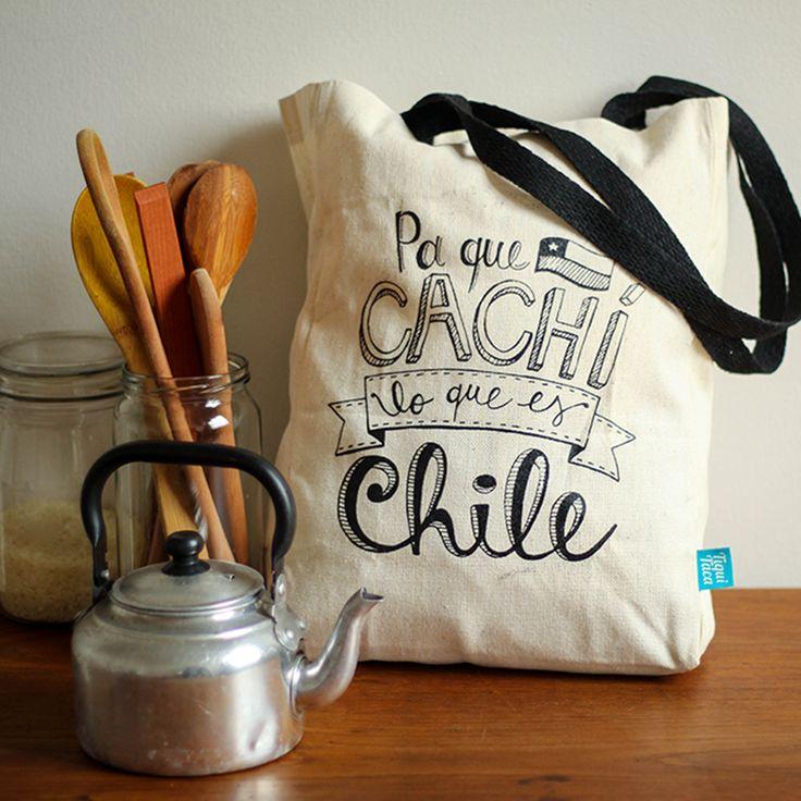 Beautiful Totebag made in Chile. #totebag #chilean