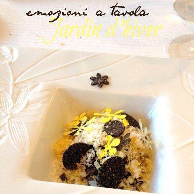 #floconsdesel  #giardinod'inverno #chefEmmanuelRenaut