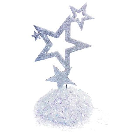 Sparkling Star Centerpiece Kit (set of 4)-Starry Nights, A Night Under the Stars Prom Decorations