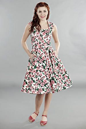 the goodness gracious dress. Pink roses