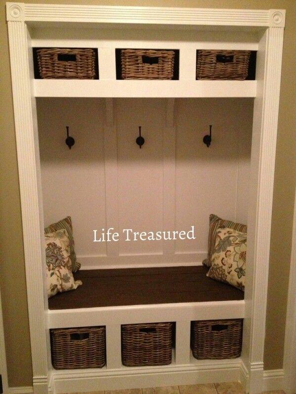 Small closet conversion