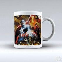 Avanger Captain America Poster image White Mug