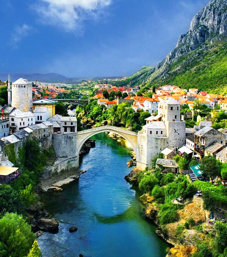 Mostar, Bosnia I love Bosnia!!!!!!!!!!!!!!<3