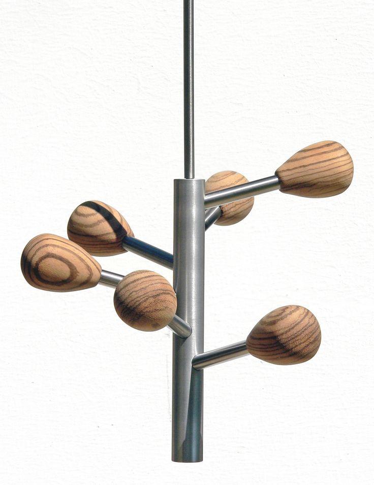 Insilvis ARTIFICIO 5, ceiling coat rack