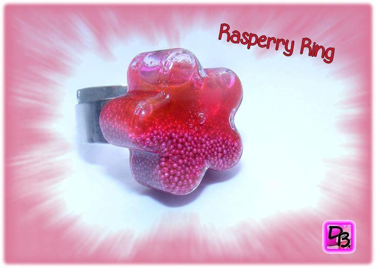 Voici ce que je viens d'ajouter dans ma boutique #etsy: Bague anneau réglable globe verre soufflé forme fleur unique créateur encre liquide rose fuchsia micro-billes et paillettes cadeau dollydoo http://etsy.me/2CEaEnm #bijoux #bague #rose #non #verre #filles #argent