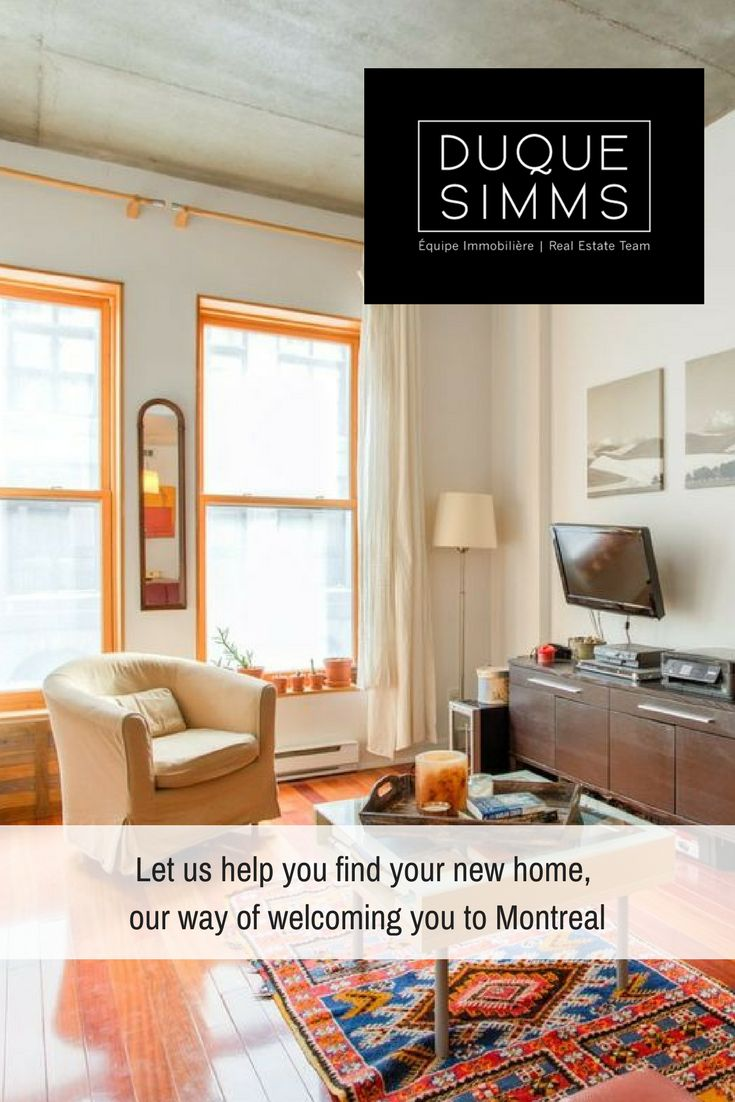 Moving to Montreal? We know the drill - let us help you find the home that fits your desires and needs. You'll only have to think about settling into your new home in your new city. #NewToMontreal#AtHome#MontrealRealEstate #Brokers #RealEstate #MontreaRealEstate