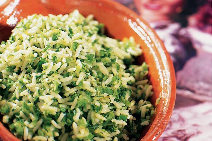 Kijk wat een lekker recept ik heb gevonden op Allerhande! Groene rijst