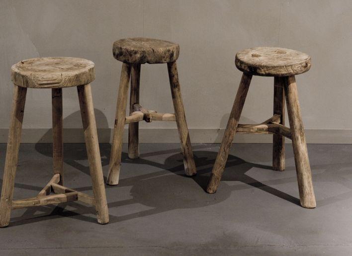 Houten Krukjes Marktplaats.Originele Chinese Ronde Kruk 3 1 Meubels Home Furniture Stool