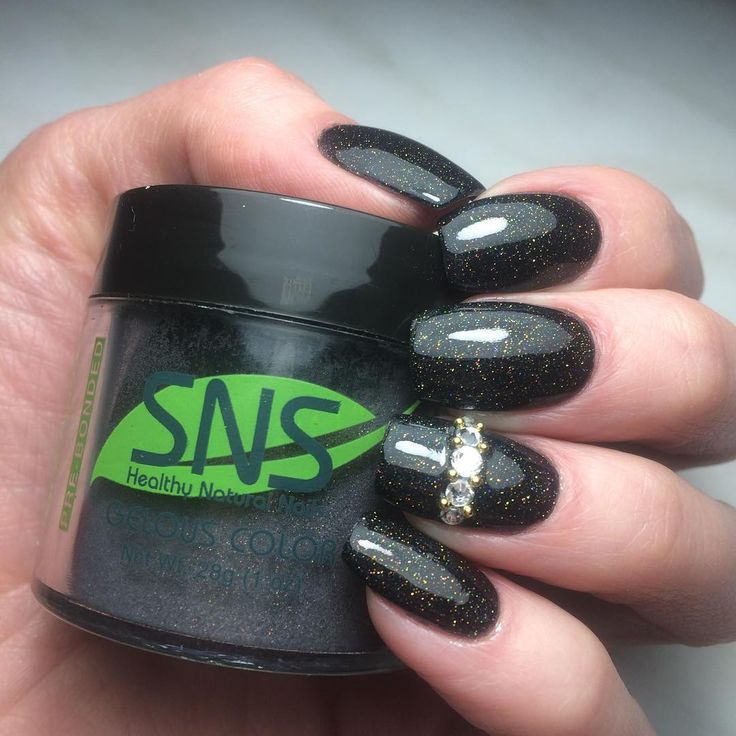 nice 25 Popping Ideas on SNS Nails - Choose Your Glitter