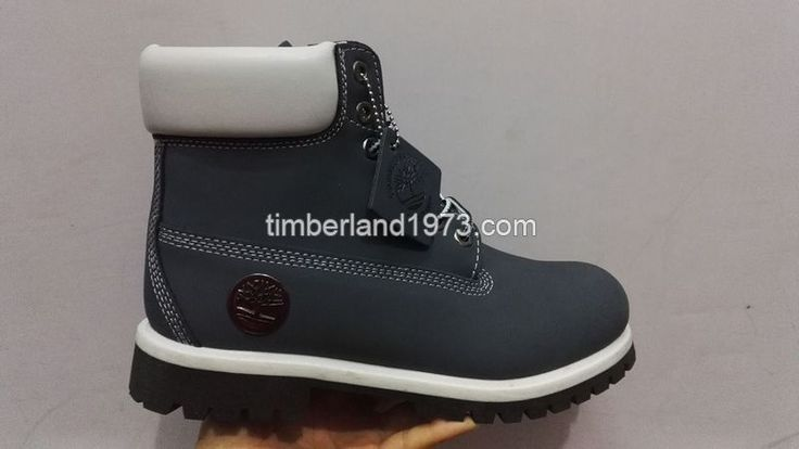Fashion New Timberland 6 Inch Premium Waterproof Boots For Men's Navy-Blue and White $ 78.00