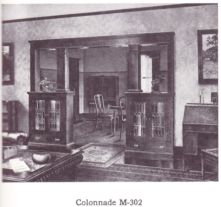 Colonnade (room Divider) Published In Millwork Catalog