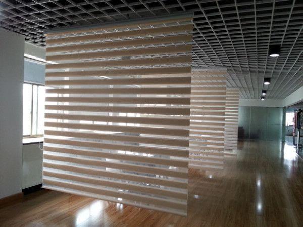 Maßgeschneiderte Vorhang 100% Polyester Leinen Zebra-Jalousien in Beige High Quality Trans …   – Home Decor