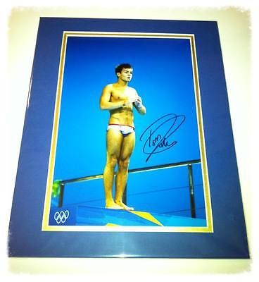Tom daley olympic #diving #bronze medal hand signed #11x14 mount ,  View more on the LINK: 	http://www.zeppy.io/product/gb/2/111869116262/