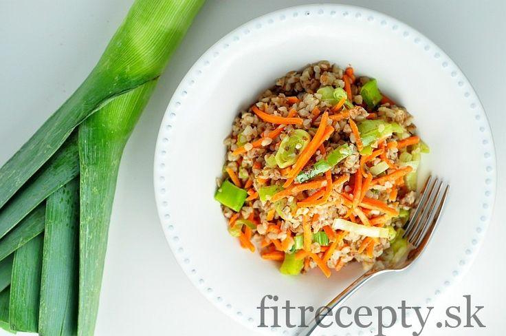 lahodna pohanka s mrkvou a porom