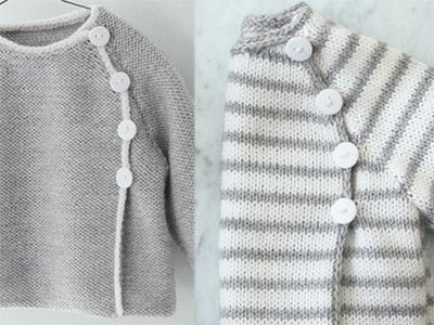 Rayée ou unie ? De quelle façon allez-vous tricoter ce modèle de brassière pour…