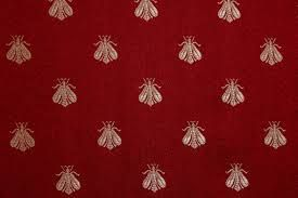Napoleon Bee Red Upholstery Fabric Google Search