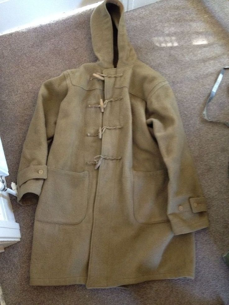 WW2 Battle Of The Atlantic ROYAL NAVY DUFFLE COAT 1940s GOVT ISSUE ...