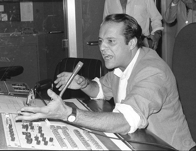 Dennis Carvalho em Roda de Fogo, 1987. Adir Méra/Agência O Globo