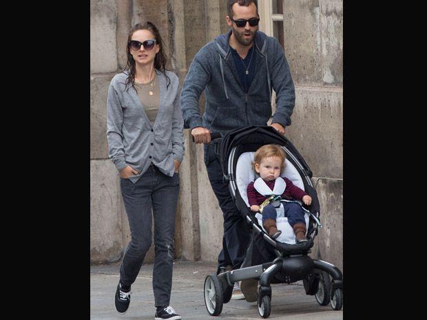 Carrinho de bebê da Natalie Portman