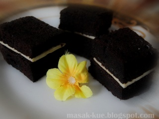 kue brownies kukus