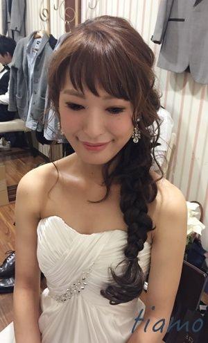 美人花嫁さまのお洒落ウエディングパーティーStyle♡♥ |大人可愛いブライダルヘアメイク『tiamo』の結婚カタログ