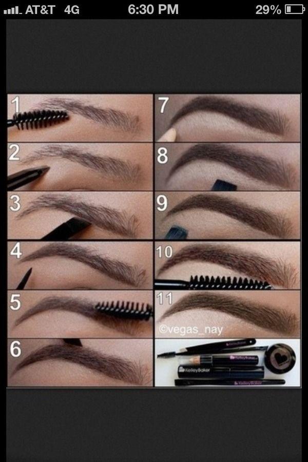 perfect brow shape✊