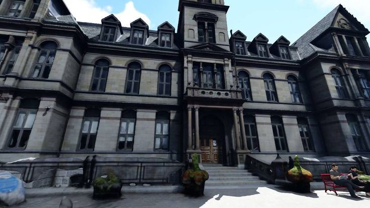 Halifax City Hall - 3d Mesh from Pictures.
