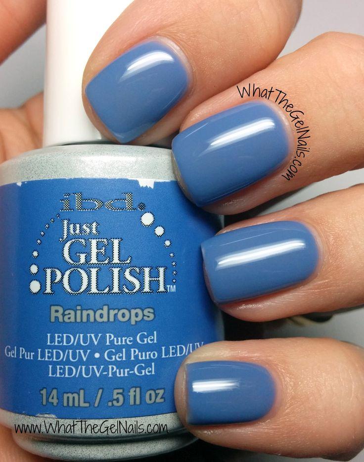IBD Raindrops plus more springy gel polish colors.