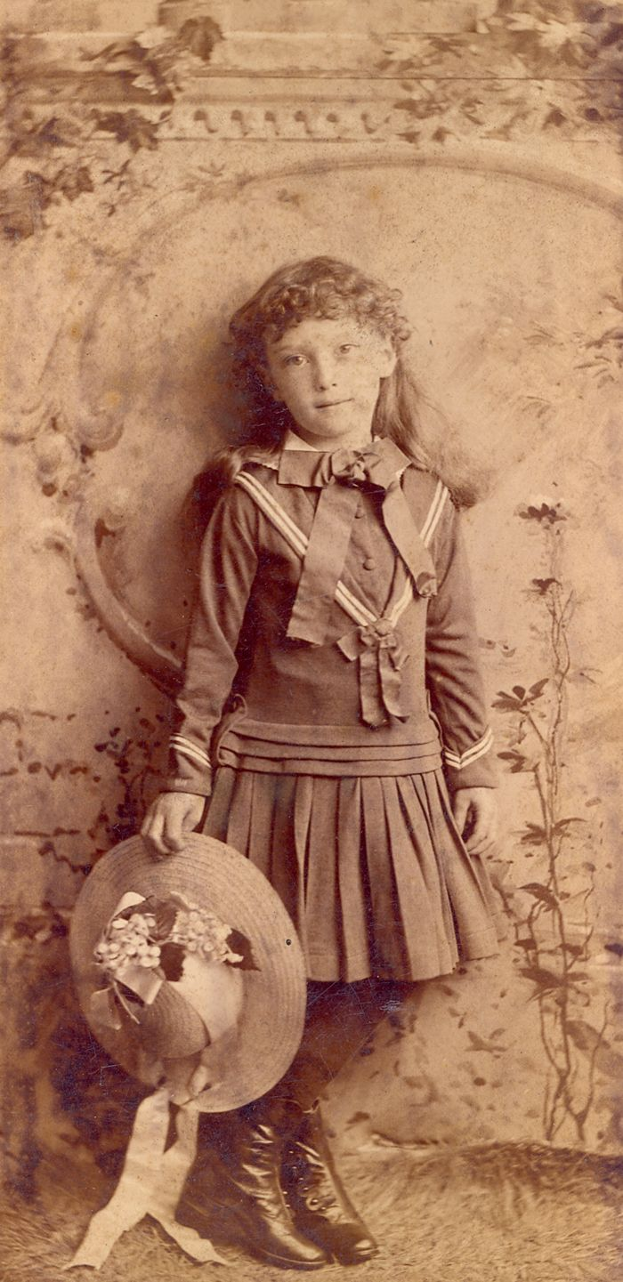 Unidentified child, late 19th- to early 20th century. Charleston Museum
