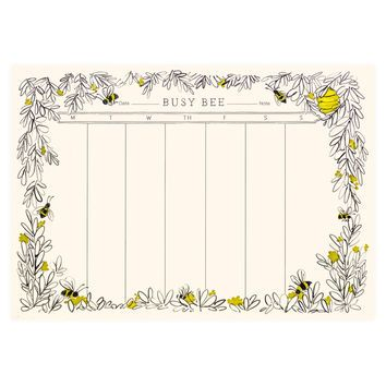 Busy Bee Weekly Desk Pad Journals Amp Stationary Desk