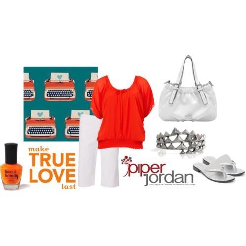 Loving Orange  www.piperjordan.com.au