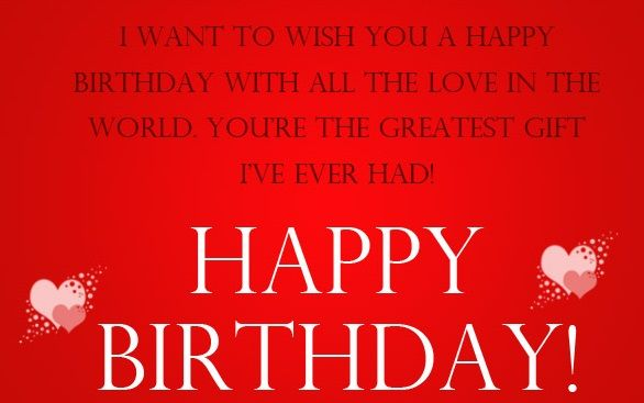 Sweet Birthday Wishes for a Lover