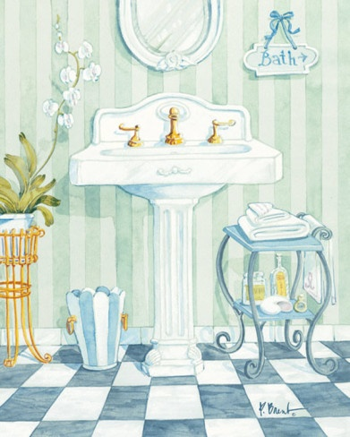 Pedistal Sink - Paul Brent