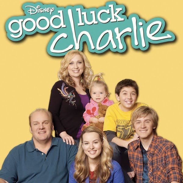 Good Luck Charlie on Disney.  This is my kids' favorite show.  I have to admit I think it is pretty funny too.  The Mom is a crack up!